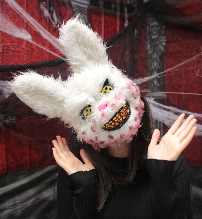 Scary Bunny Mask