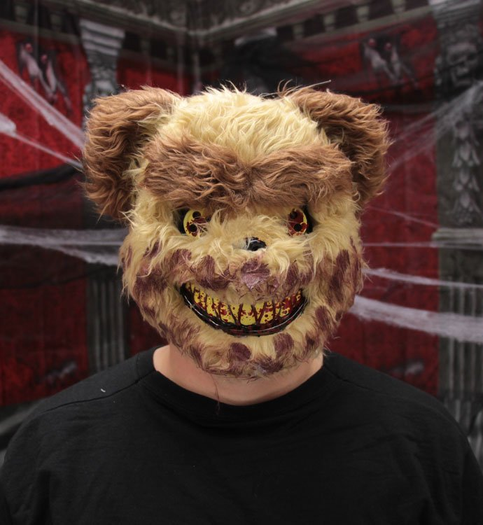 Scary Teddy Bear Mask