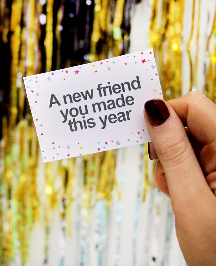 Free Printable NYE Party Game