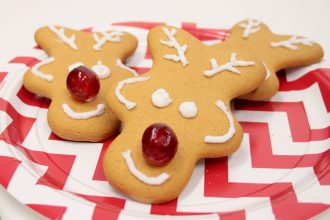 How to Make Gingerbread Reindeer