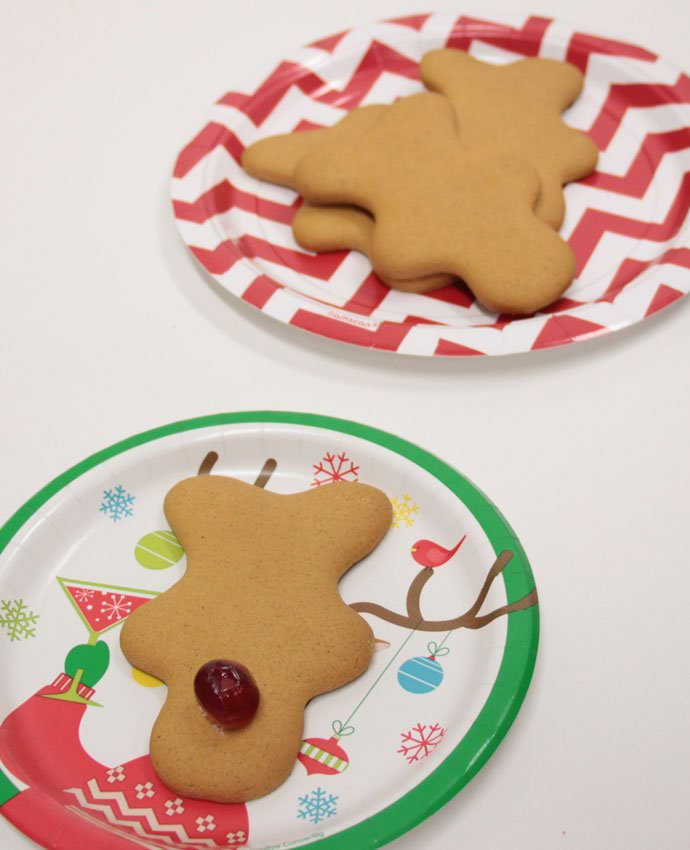 Making Gingerbread Reindeer - Step 2