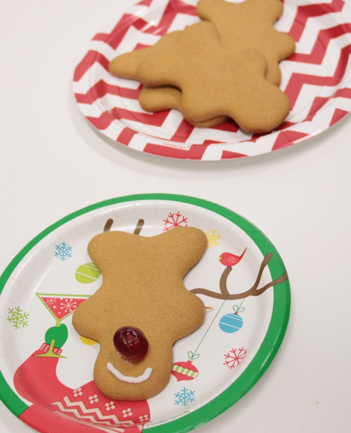 Making Gingerbread Reindeer - Step 3