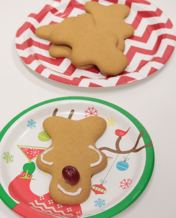 Making Gingerbread Reindeer - Step 4
