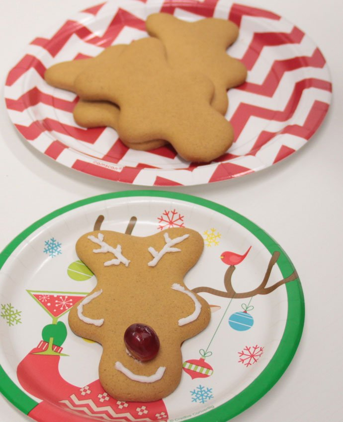 Making Gingerbread Reindeer - Step 6