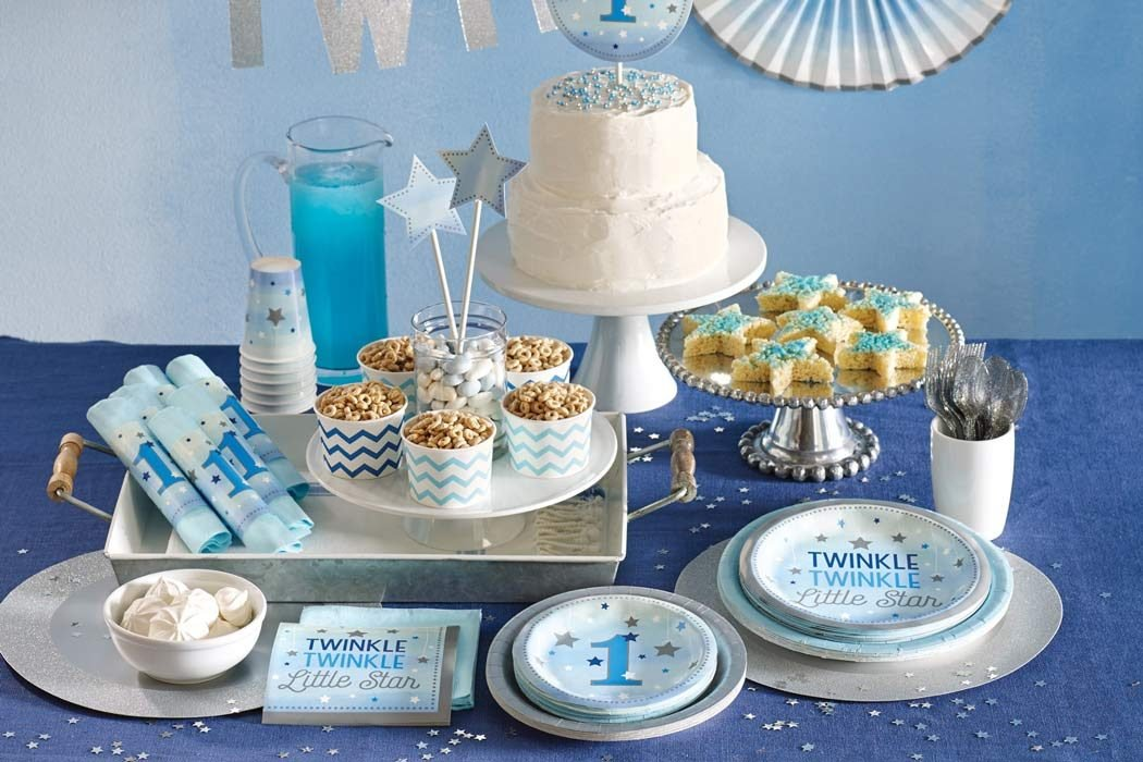 Moon & Stars 1st Birthday Party Ideas