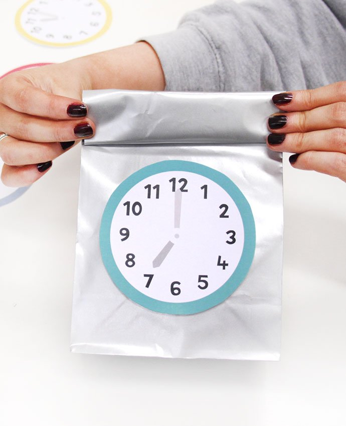 New Year's Eve Countdown Bags - Step 7