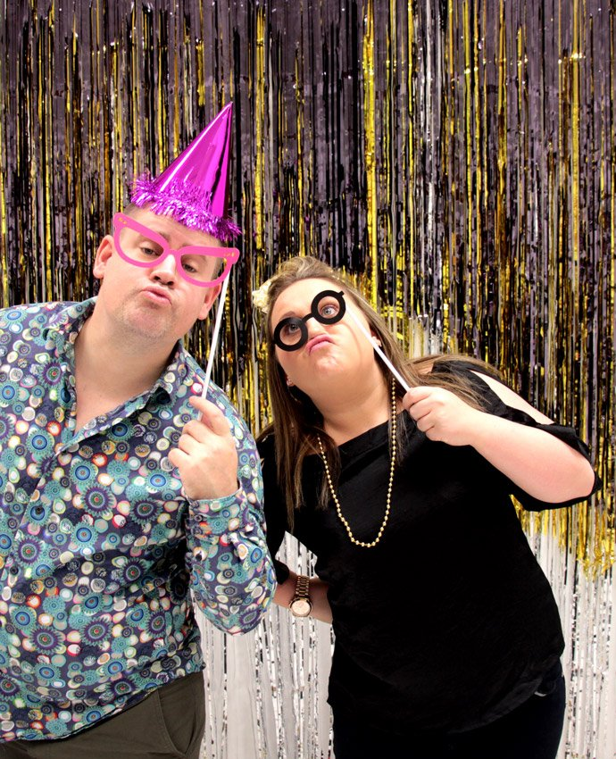 The Ultimate New Year's Eve Photo Booth | Party Delights Blog