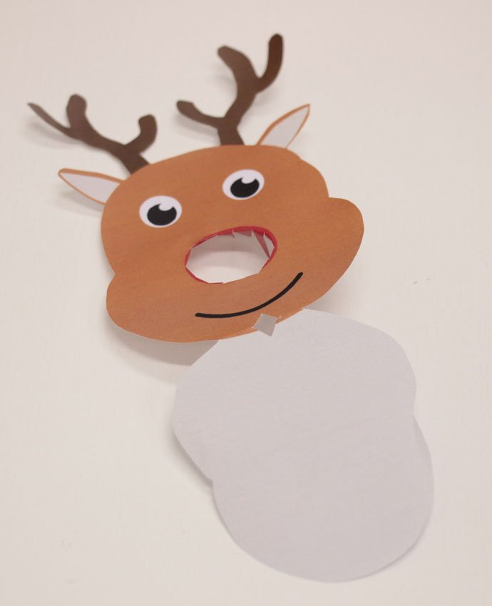 Reindeer Lollipop Covers - Step 6