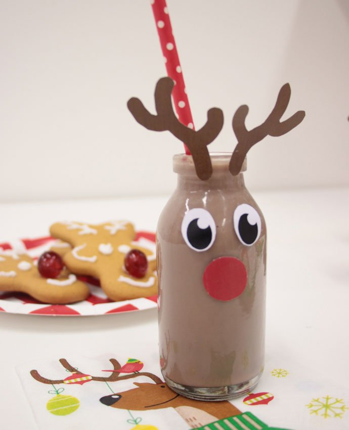 Reindeer Milk Bottles