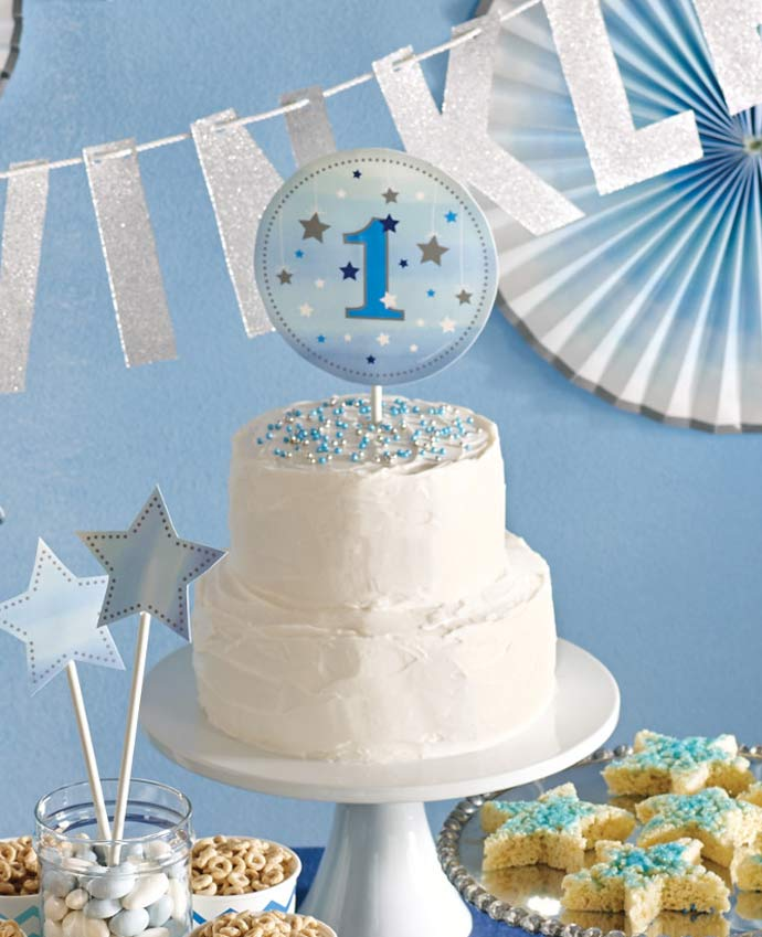 Twinkle Twinkle Little Star Birthday Cake