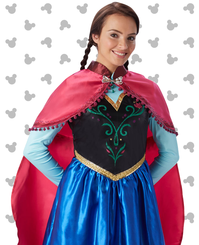 Anna Frozen Costume for Adults