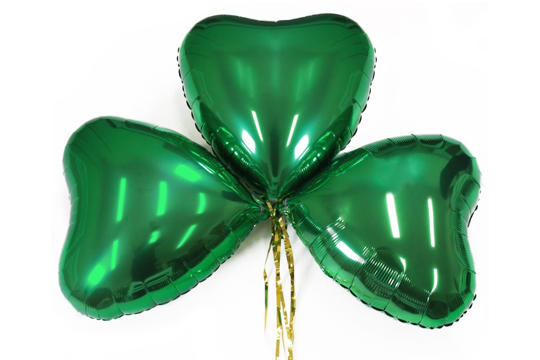 How to Make Shamrock Balloons