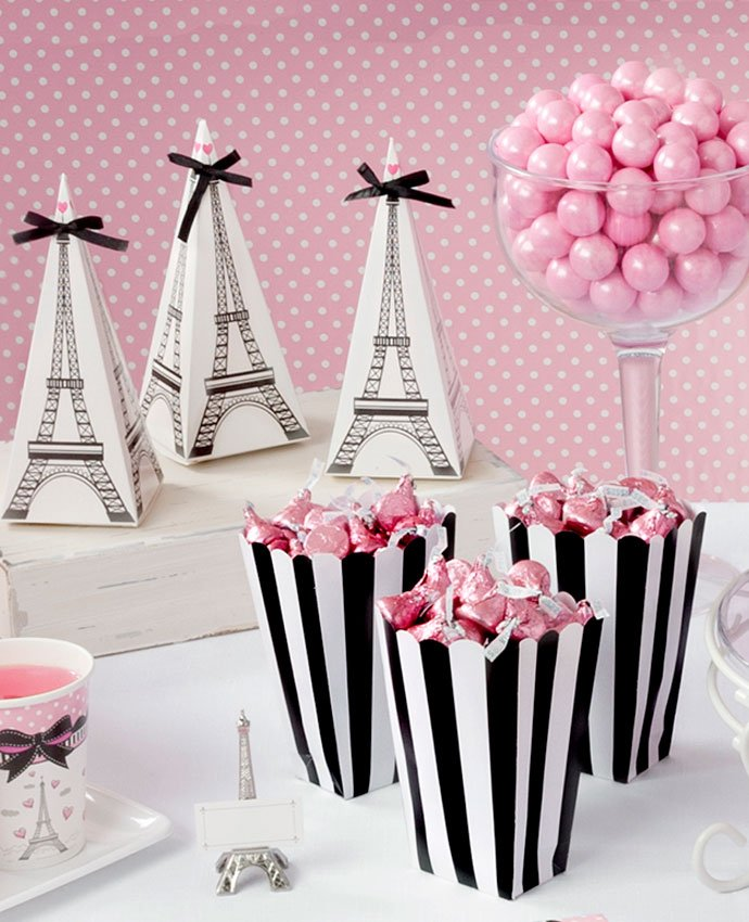 Paris Themed Party Food