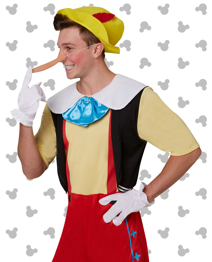 Pinocchio Costume for Adults