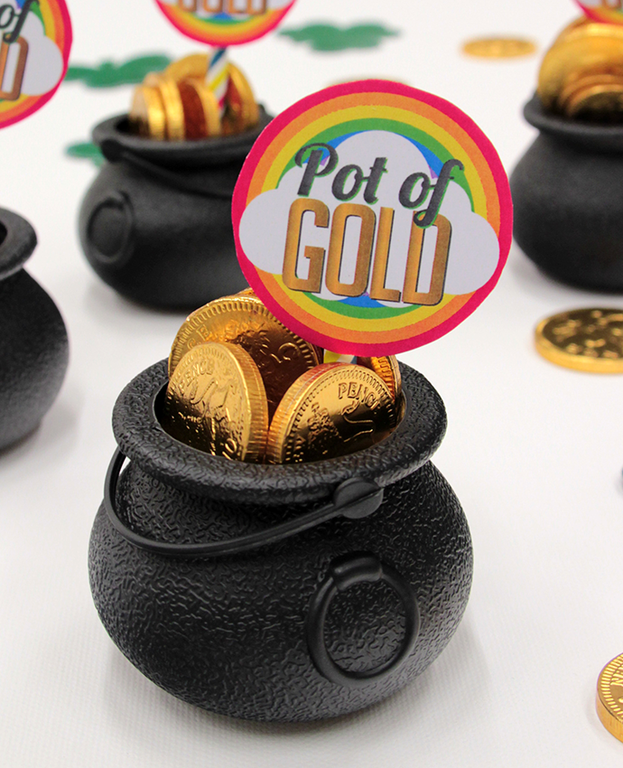 Pot of Gold Party Favours