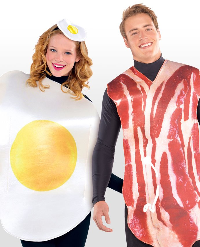 Bacon and Egg Couples Costume