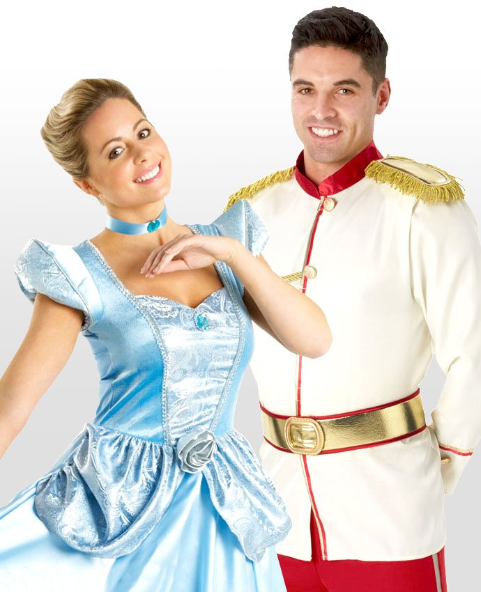 Cinderella and Prince Charming Couples Costume
