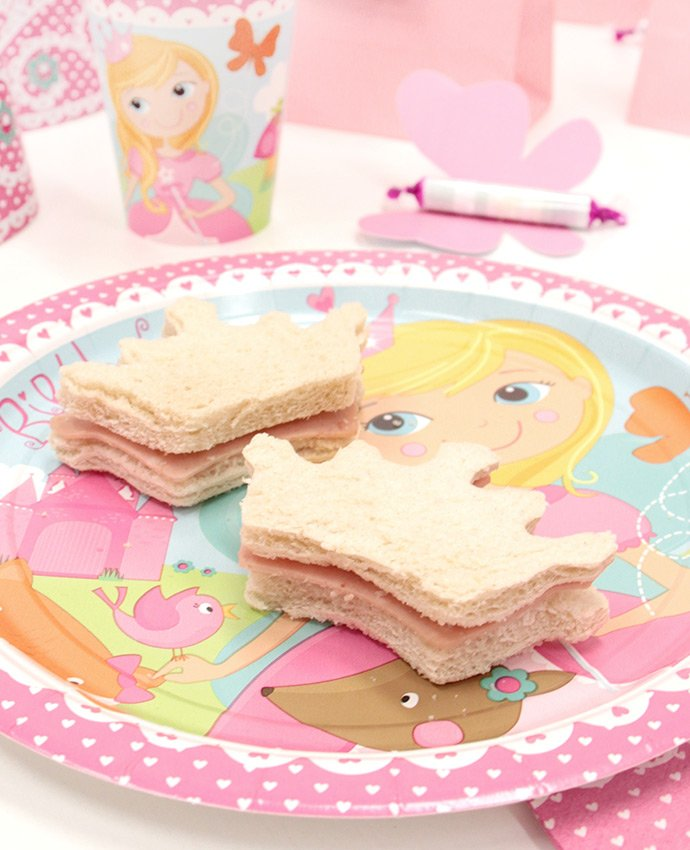 Crown Shaped Sandwiches