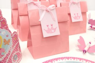 DIY Princess Party Bags