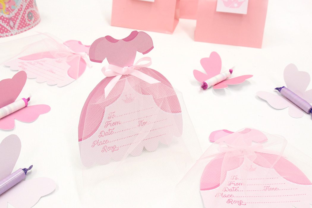 DIY Princess Party Invitations