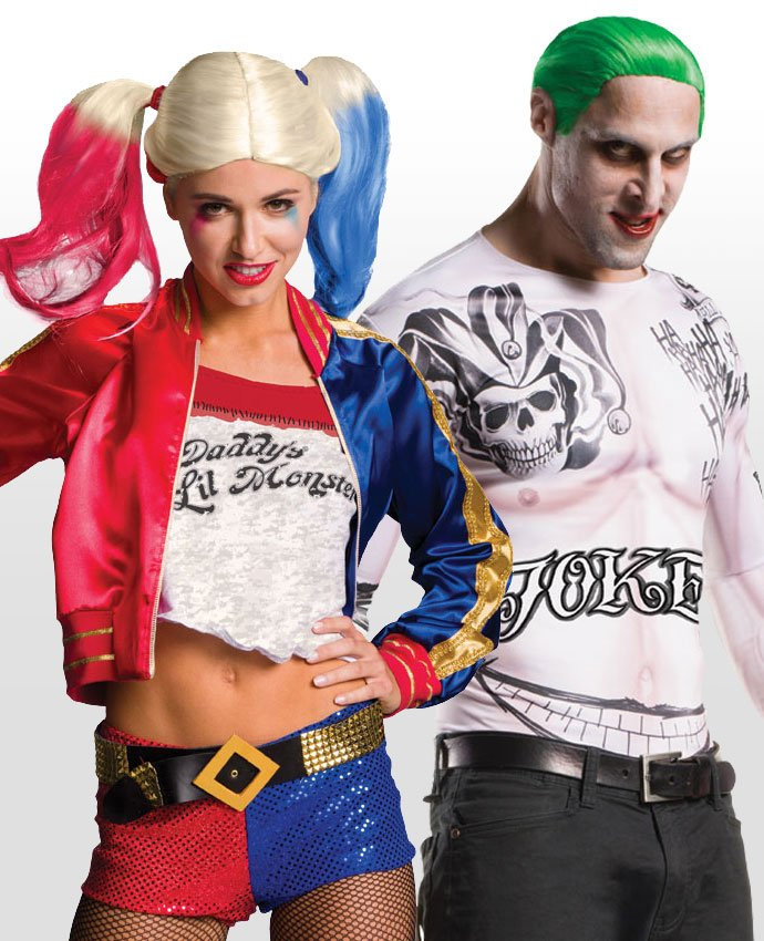 Harley Quinn and the Joker Couples Costume
