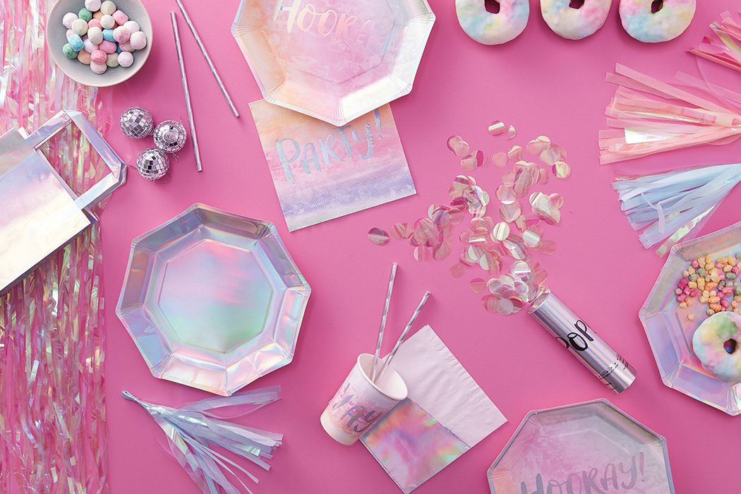 Iridescent Party Ideas
