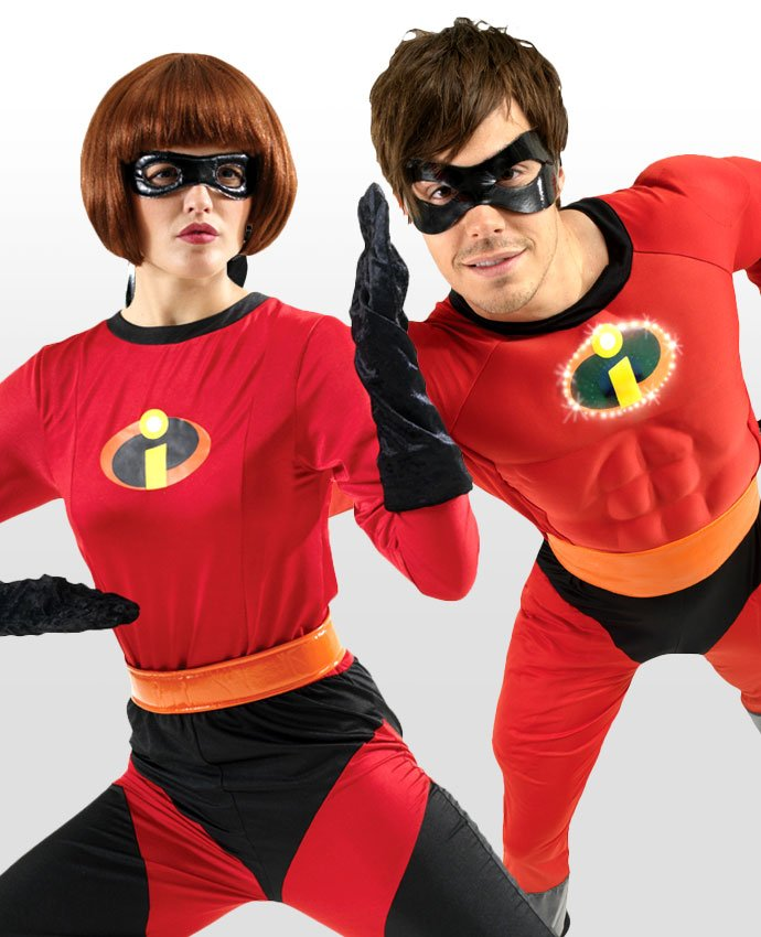 Mr and Mrs Incredible Couples Costume