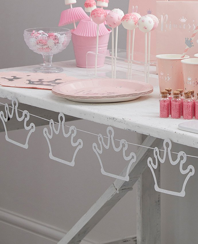 Princess Party Table Bunting