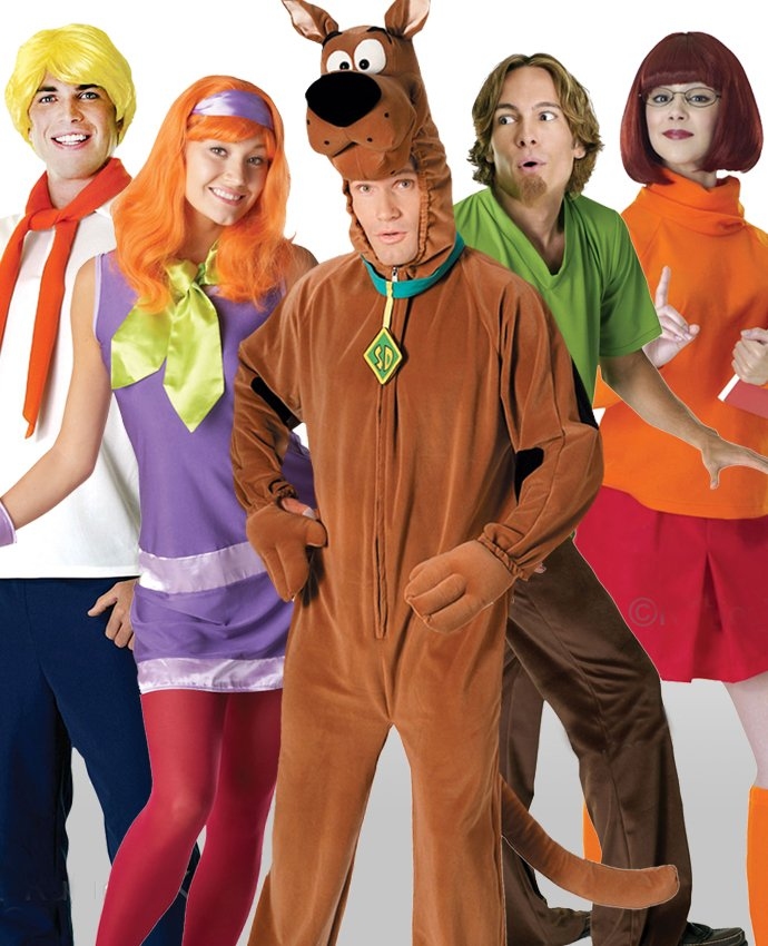 Scooby Doo Group Costume