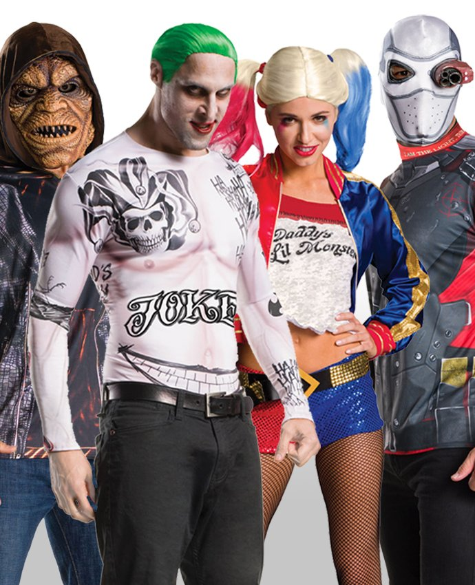 Suicide Squad Group Costume