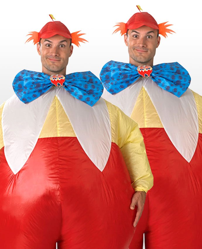 Tweedle Dum and Tweedle Dee Couples Costume  sc 1 st  Party Delights Blog & 17 Coupleu0027s Costume Ideas for You and Your Other Half | Party ...