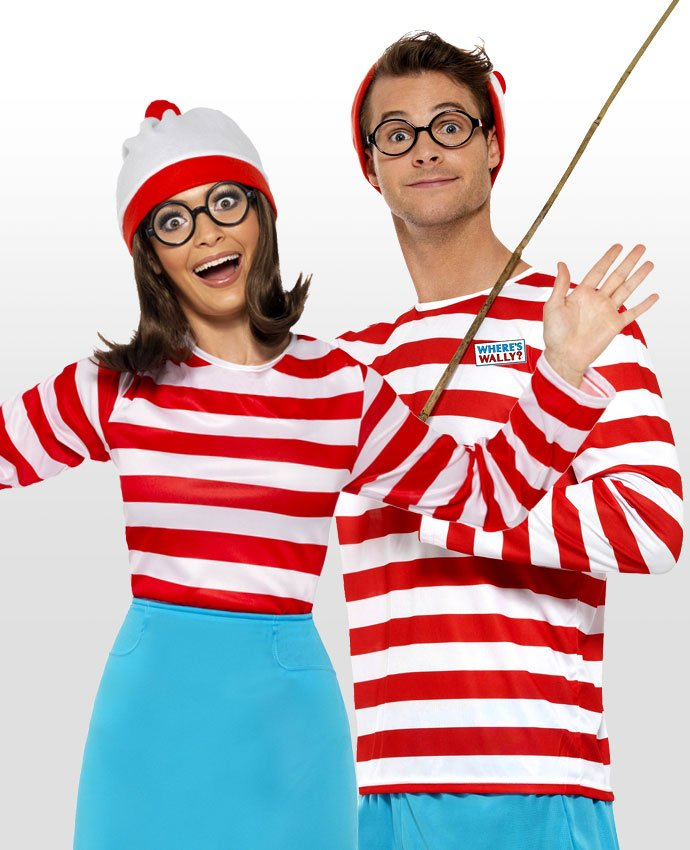 Where's Wally Couples Costume