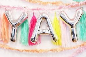 Creative Ways to Use Letter & Number Balloons