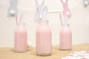 Easter Bunny Milk Bottles