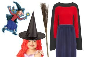 Easy DIY Room on the Broom Costume