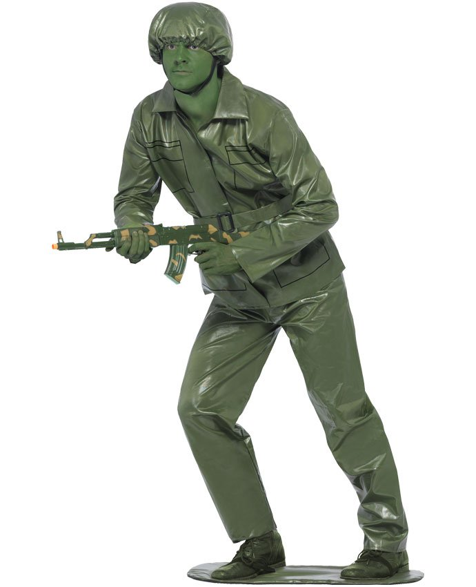 Toy Soldier Running Costume