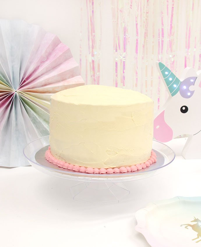 Unicorn Cake Step 1