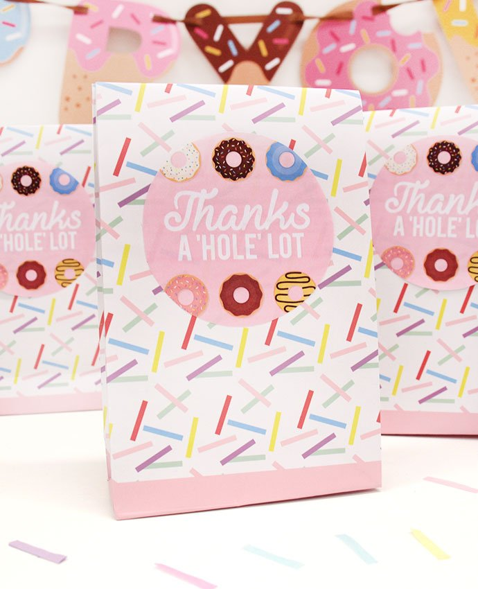 Doughnut Party Bags