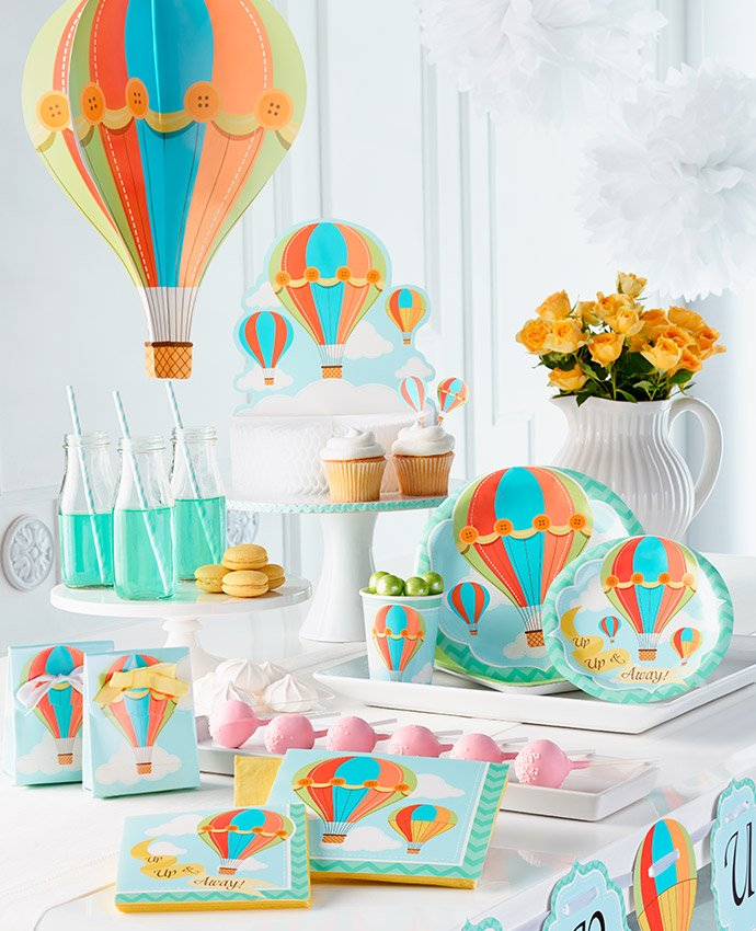 Hot Air Balloon Party Supplies
