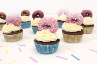 How to Make Doughnut Cupcakes