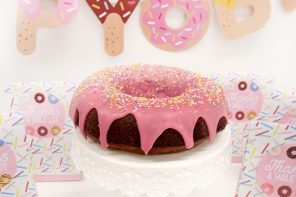 How to Make a Doughnut Cake