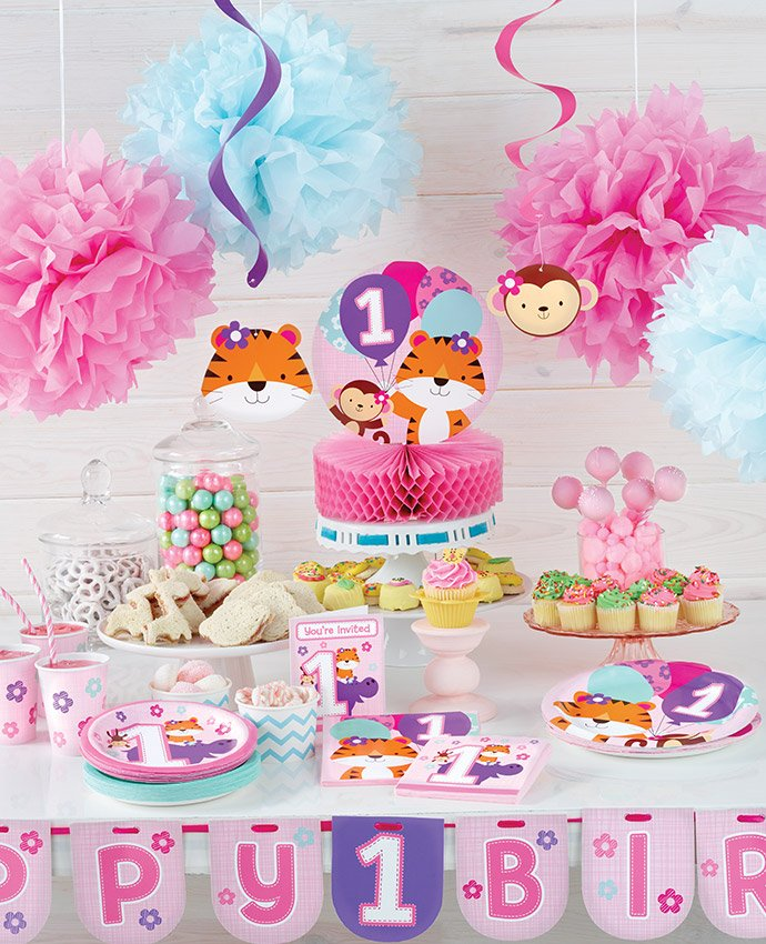 One is Fun Pink Party Supplies
