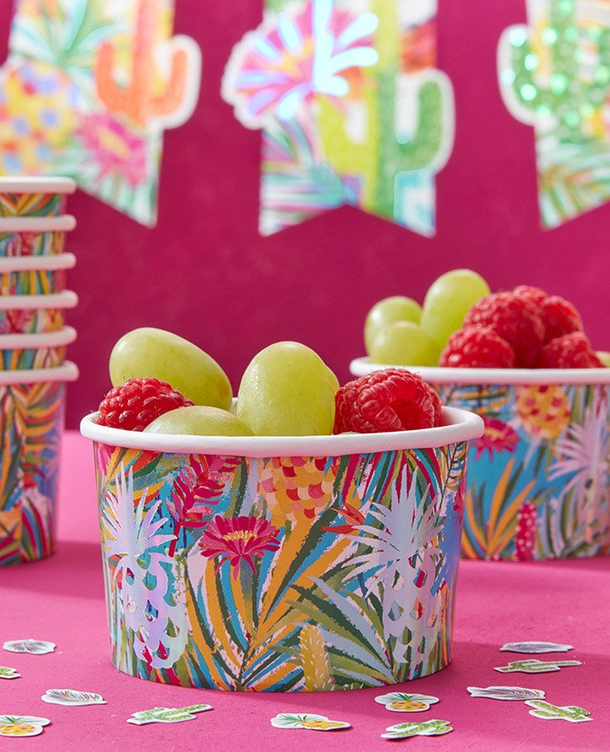 Tropical Ice Cream Tubs