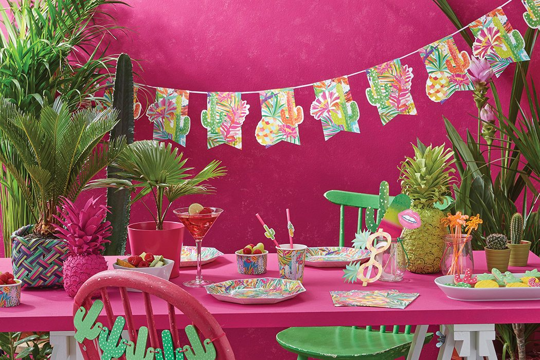 Tropical Palm Tree Party Ideas