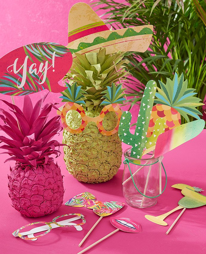 Tropical Photo Props