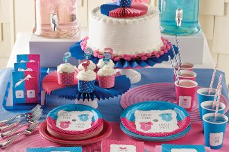 Bow or Bow Tie Gender Reveal Party