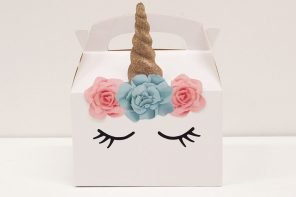 DIY Unicorn Party Boxes