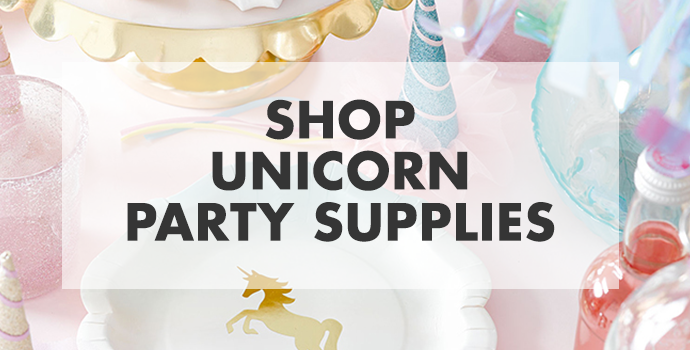 Shop Unicorn Party Supplies