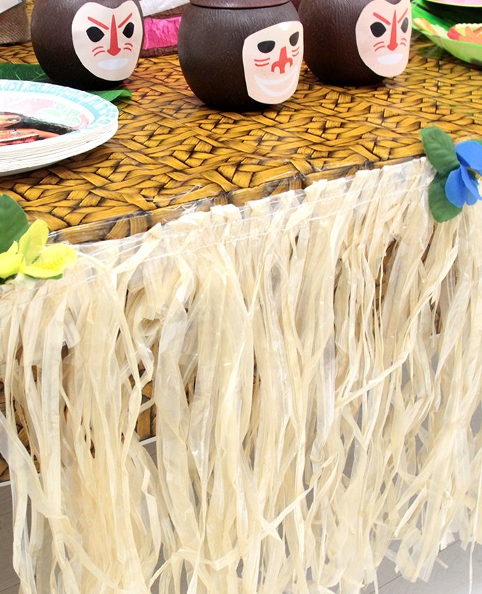 Grass Skirt for Tables