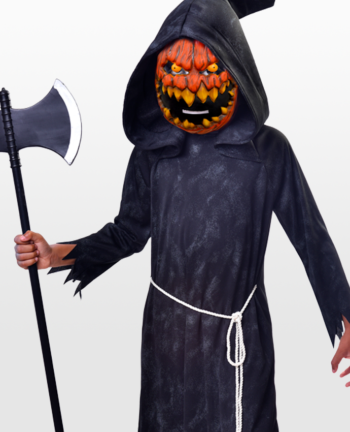 Kids Pumpkin Reaper Costume